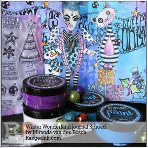 Winter Wonderland Journal Page by Miranda van den Bosch