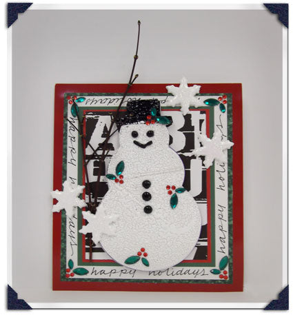 UTEE Winter Wonder Card By Suze Weinberg