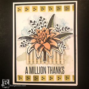A Million Thanks Card by Cassie Lynch