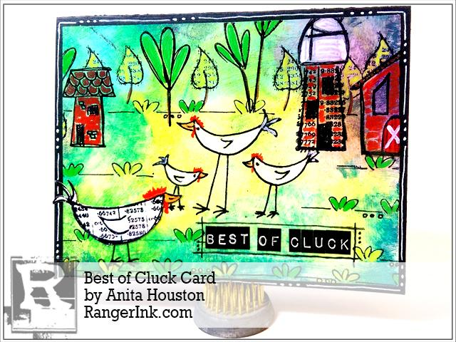 Best of Cluck Card by Anita Houston