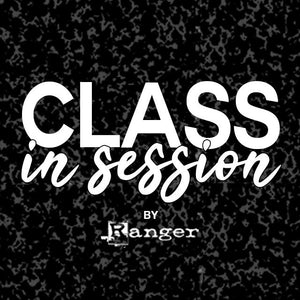 Class in Session by Ranger: Letter It™