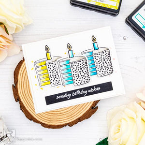 Clean and Simple Birthday Card by Laura Volpes