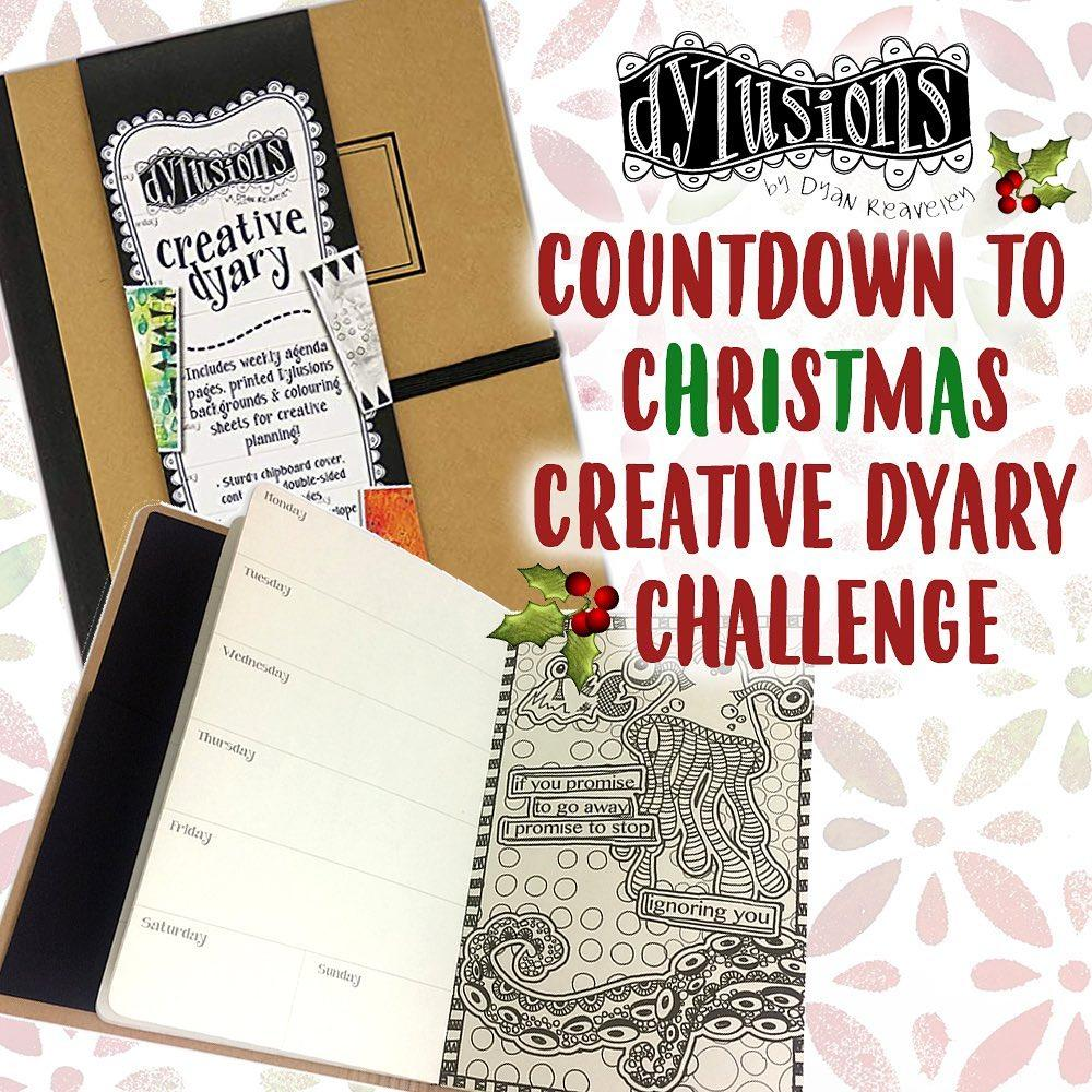 Countdown to Christmas Creative Dyary Challenge