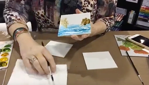 Creativation 2019 - Alcohol Ink Demo with Sharen Ak Harris