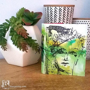 Collage Collective  Art Journal by Megan Whisner Quinlan