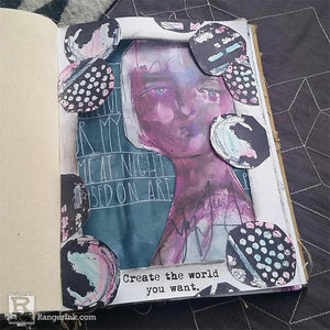 Window Journal Page by Megan Whisner Quinlan
