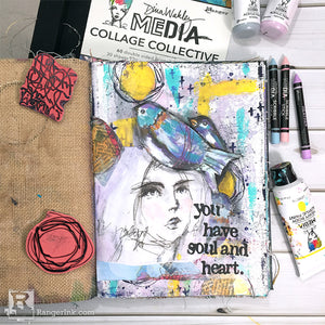 You Have Soul and Heart Journal Page by Carisa Zglobicki