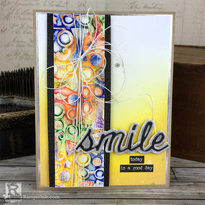 Smile Distress® Crayon Card Tutorial by Bobbi Smith