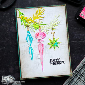 Distress Ornament Card by Cheiron Brandon