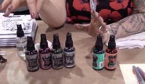 Dyan Reaveley Shows Off Her New Dylusions Products at CHA 2014!