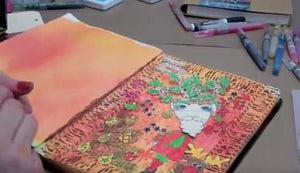Dylusions Art Journaling: Creating a Page (Part 2 of 2)