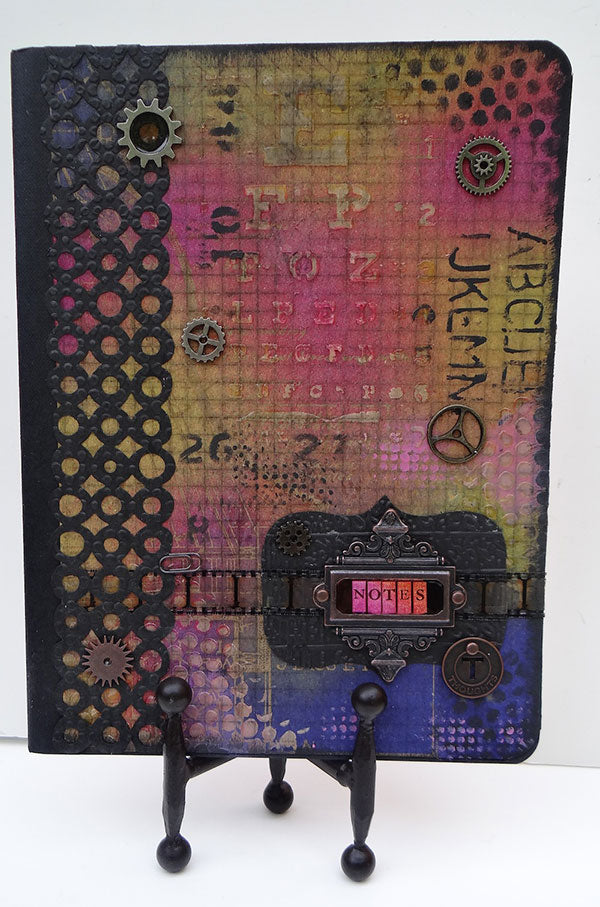 Dylusions/Distress Altered Composition Notebook