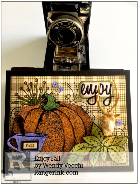 Enjoy Fall Card by Wendy Vecchi