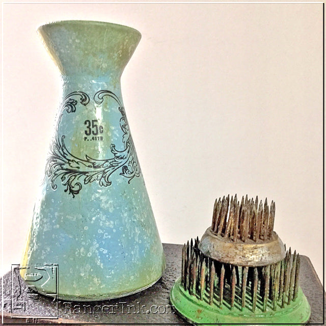 Faux Graniteware on Glass with Wendy Vecchi