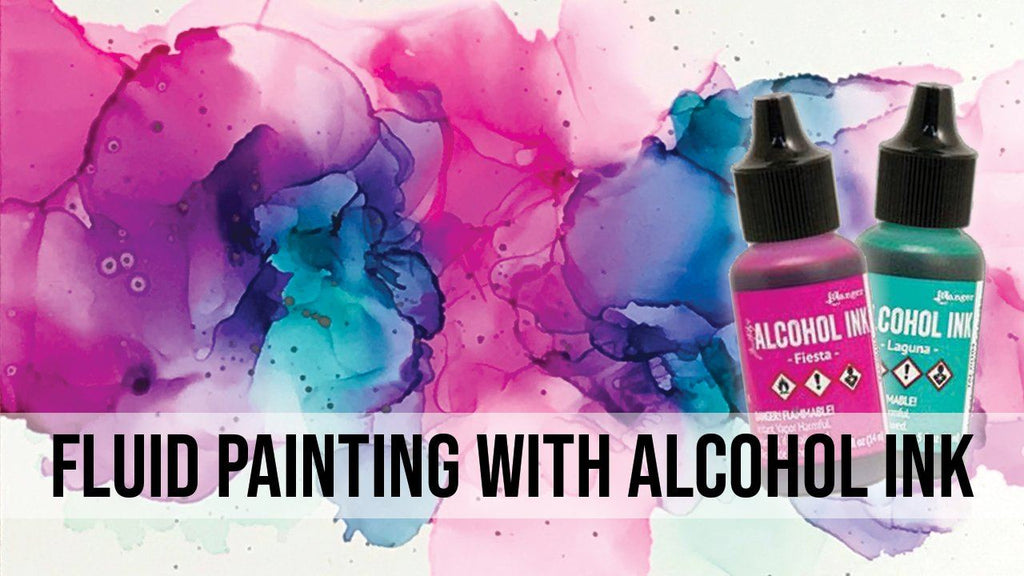 Fluid Painting with Alcohol Ink
