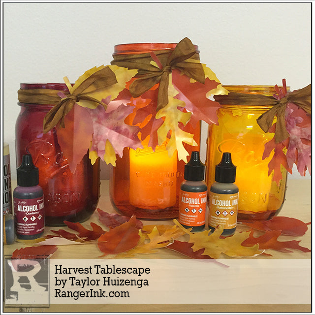 Harvest Tablescape by Taylor Huizenga