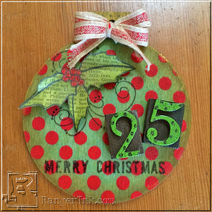 Holiday Ornament with Wendy Vecchi