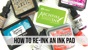 How to Re-Ink an Ink Pad