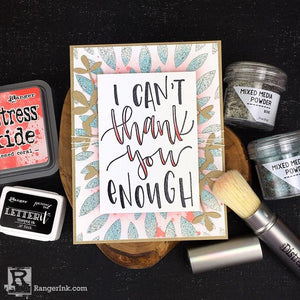 I Can't Thank You Enough Card by Bobbi Smith