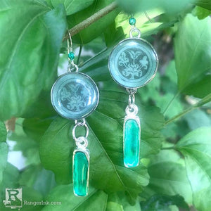 ICE Resin® Summertime Earrings  By Debbie Tlach