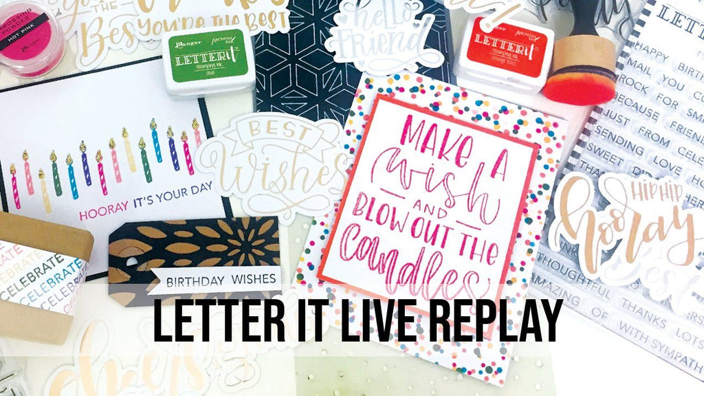 Letter It™ Live Launch Party Replay