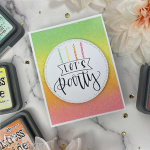 Letter It™ Let's Party Card by Joy Baldwin