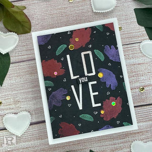 Love You Card by Joy Baldwin