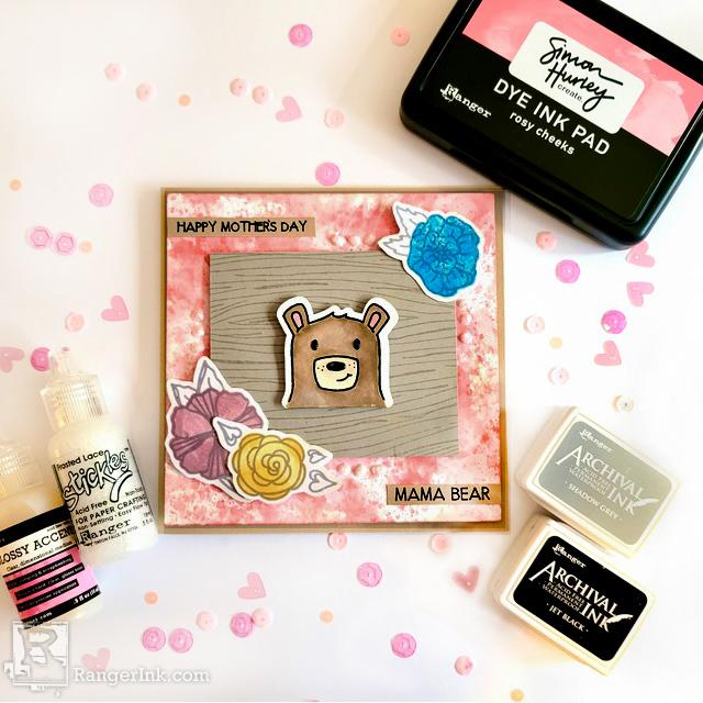 Simon Hurley Mama Bear Mother's Day Card by Hannah Cate