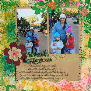 Misted Dylusions Layout