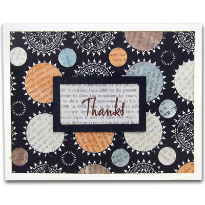 Perfect Pearls™ Thanks Card By Lisa Dixon