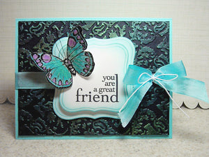 Perfect Pearls Great Friend Card