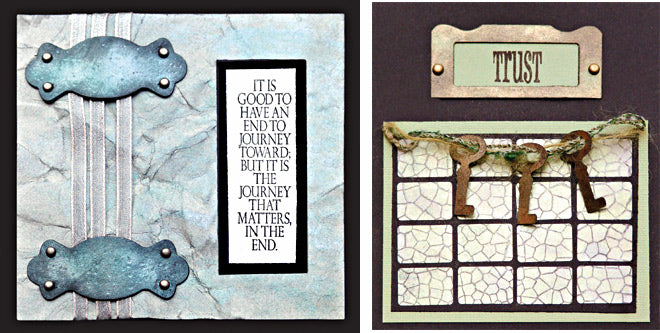 Perfect Pearls™ Aged Patina Kit Cards By Bonnie Egenton