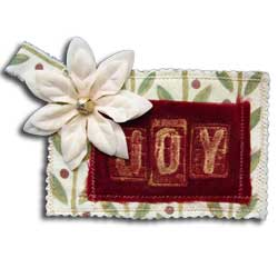 Perfect Pearls™ Joy Gift Card Holder Ornament By Lisa Dixon