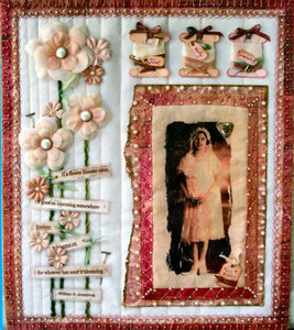 Perfectly Quilted Wall Hanging By Lisa Dixon