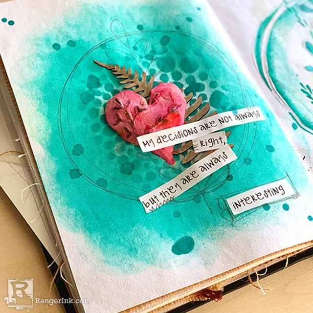 Decisions Journal Page by Jamie Dougherty