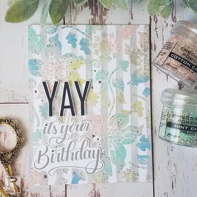 Yay It's Your Birthday Card by Joy Baldwin