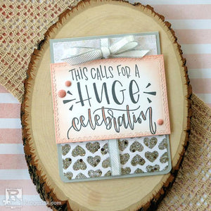 This Calls for a Huge Celebration Card by Audrey Pettit