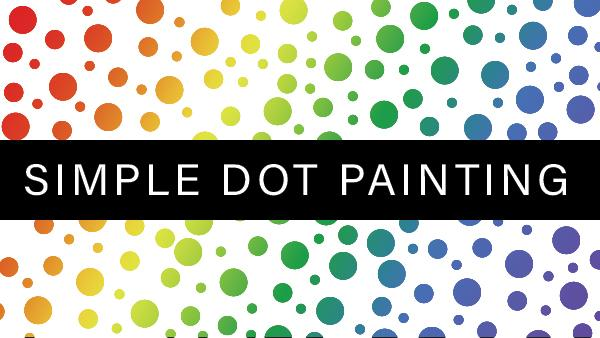 Facebook LIVE Replay: Simple Dot Painting