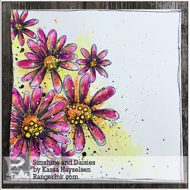 Sunshine and Daisies by Kassa Hayselsen