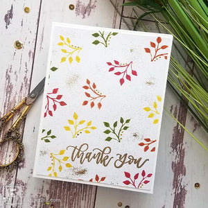 Thank You Fall Card by Joy Baldwin