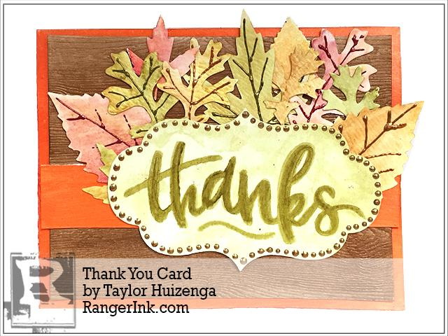 Thank You Card by Taylor Huizenga