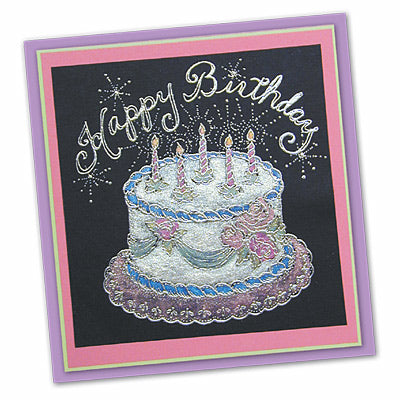 "The ""Perfect"" Birthday Card by Debbie Tlach"