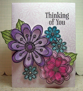 Thinking of You Perfect Pearls Card