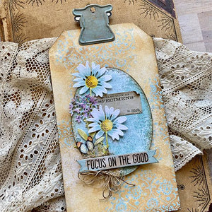 Tim Holtz Distress Focus on the Good Tag by Paula Cheney
