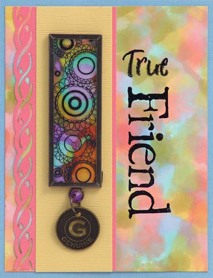 True Friend Adirondack™ Alcohol Ink Card By Patti Behan and Debbie Tlach