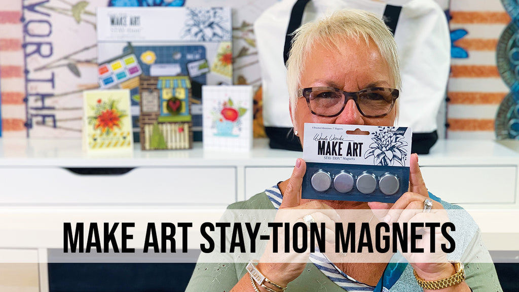 Wendy Vecchi MAKE ART STAY-tion™ Magnets