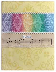 Watermark Resist For You Card By Lisa Dixon