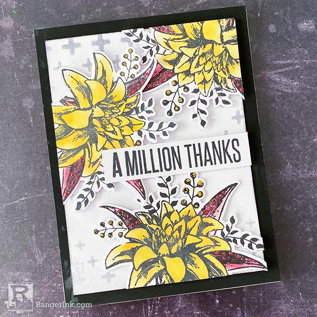 A Million Thanks Card by Cheiron Brandon