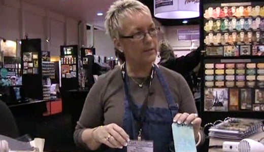 Wendy Vecchi Demos Adirondack® Pigment Ink and Perfect Pearls™