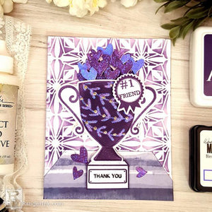 Wendy Vecchi Royal Cup Friendship Card by Terri Burson